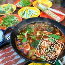 地獄の旨さ!TABASCO鍋